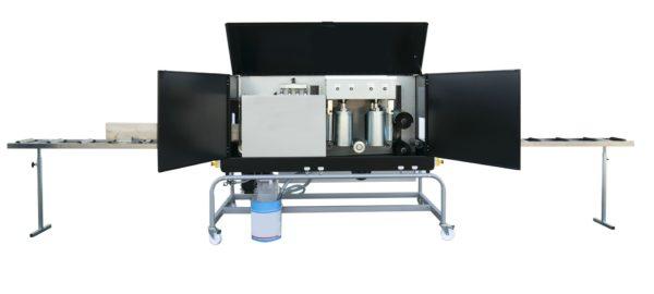 Ceetec A250 Anstreichautomat top Streichmaschine für Profilbretter -Bürstenautomat
