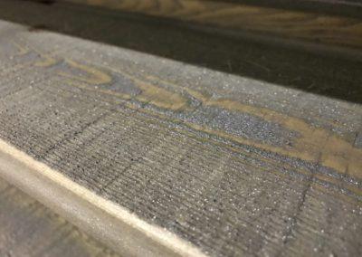 Muster Effektlasur Remmers Ceetec A250 Streichmaschine Lasurmaschine