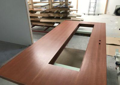 Fertige Holztür Ceetec Flächenspritzautomat