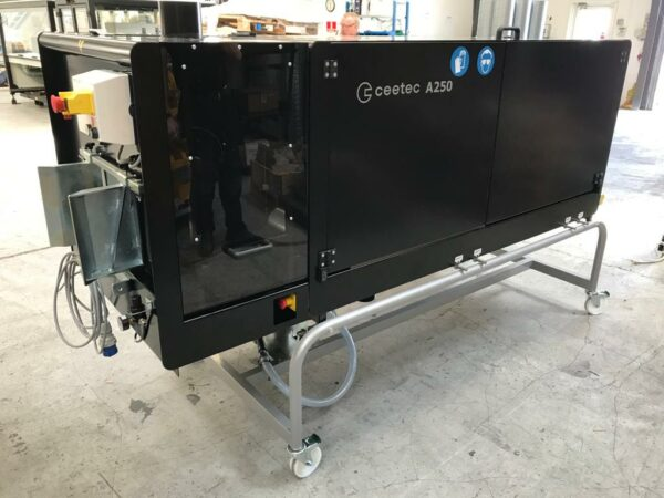 Ceetec A250 Flutanlage Bürstenmaschine mit Schleifmodul