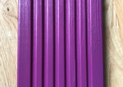 Muster Terrassendiele in Signalviolett, erstellt mit Ceetec P40